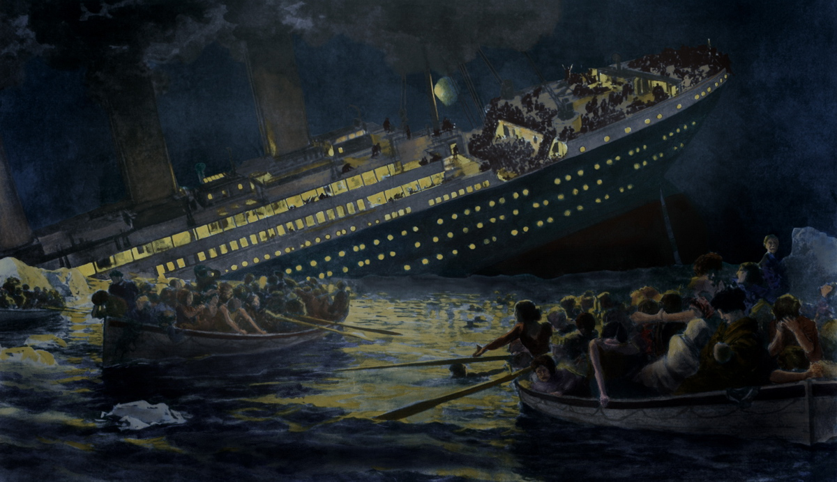 TITANIC. 7 reasons why a big company can be doomed